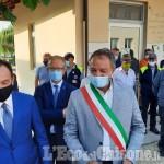 Il Governatore Cirio a Campiglione per il primo giorno di scuola