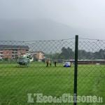 Val Chisone: recuperato un uomo al Cro con l'elicottero dei Vigili del fuoco