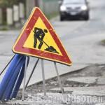 Val Chisone: lunedì 15 chiusura della rotatoria di Malanaggio per asfaltatura