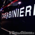 Ladri inseguiti dai carabinieri tamponano e scappano a piedi: ricerche a Bricherasio