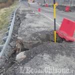 Sp 23 del Sestriere interrotta a Champlas du Col: il cedimento si aggrava