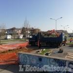 Pinerolo: partiti dalla Stazione Olimpica i lavori per la nuova ciclabile