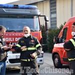 Frossasco, incendio ex Annovati: la Procura ha aperto un fascicolo