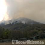 Incendi: Cumiana e Cantalupa si preparano a un'altra notte insonne