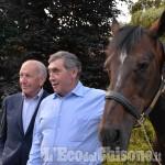 Giro d'Italia, magica serata a Vigone per incontro Merckx - Varenne