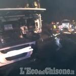 Orbassano: tir contro auto in strada Stupinigi, 70enne in ospedale