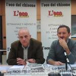 """Primarie Pd Pinerolo: dibattito """"caldo"""" tra Barbero e Pinchiaroglio nella diretta streaming dell'Eco del Chisone"""