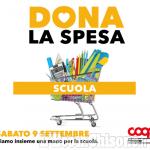 """""""Dona la spesa per la scuola"""", iniziativa di Nova Coop per le famiglie in difficoltà"""