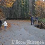 Prarostino: strada Provinciale chiusa per frana, si passa da via Massera e via Collaretto