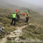 84enne ferito sul monte Orsiera, l'intervento di Soccorso alpino e 118