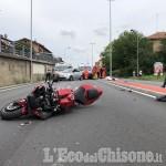 Beinasco: auto contro moto in strada Torino, muore centauro 40enne di Orbassano