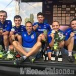 Mtb campionato europeo argento relay per l'Italia con Avondetto