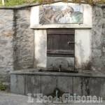 Pinasca: di nuovo non potabile la frequentatissima fontana dell'Orsa