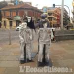 """Nichelino: """"Anime"""" per la Giornata della Memoria in piazza Di Vittorio"""