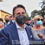 Giuseppe Conte a Nichelino per sostenere la candidata a sindaco Sibona