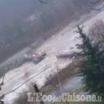 Allerta meteo Val Pellice: spazzato via il Guado della Bertenga aTorre