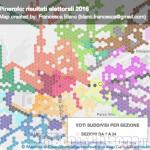 Elezioni di Pinerolo: la mappa dei voti ai candidati sindaco nelle 34 sezioni