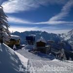 Prali: la strada torna agibile e sabato 3 e domenica 4 aprono gli impianti di sci