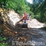 Val Germanasca: partono i cantieri sulla strada del Colletto delle Fontane e al paravalanghe