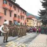 Paesana: concerto della Fanfara Alpina Taurinense