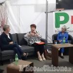 La ministra Bellanova a Pinerolo per la Festa dell'Unitá