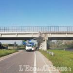 Orbassano: via ai lavori di Città Metropolitana al cavalcavia di Bronzina