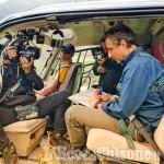 """Crissolo: il geologo Tozzi vola in Valle Po con la troupe di """"Sapiens"""""""