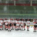 Hockey ghiaccio Ihl1, Valpellice Bulldogs chiude con un successo 7 a 0 la regular season