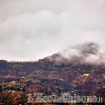 Nubi basse e nebbie riportano il lato uggioso dell'autunno!