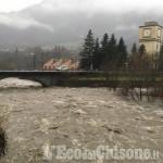 Allerta meteo: a Pinasca due borgate isolate, a S. Germano sp 166 chiusa, a Perosa franata strada