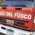 Pinerolo: Vigili del fuoco in via san Giuseppe per soccorrere un uomo infortunato