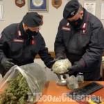 Cumiana: allertati per un presunto maltrattamento, i carabinieri trovano marijuana e arrestano un 50enne