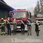 Rivalta: consegnata ai Vigili del fuoco volontari la nuova autopompa