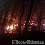 A Cantalupa il fuoco non si ferma: rischio evacuazione per alcune famiglie