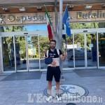 Ciclismo: Jacopo Mosca dimesso dopo l'incidente fa ritorno a casa