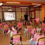 Giro d'Italia: i bambini della primaria di Sestriere premiati per il concorso Biciscuola