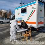 Sestriere: un'unità mobile per i tamponi rapidi in piazza tutti i martedì di novembre