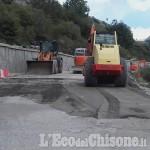 Frana di Champlas du col: la strada riapre solo per mezzi leggeri e per la Cesana-Sestriere