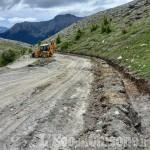 Strada dell'Assietta: proseguono i lavori tra Colle Basset e Pian dell'Alpe