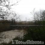 Allerta meteo: in Val Pellice torrenti al limite, ma situazione sotto controllo