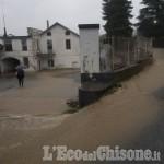 Allerta meteo: a Villar Pellice ponti aperti; a Lusernetta Turati allagata