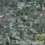 Sp23: Circonvallazione di Pinerolo chiusa oggi nel tratto i Riva per pulizia del sale invernale