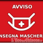 San Germano Chisone: mascherine in distribuzione alle famiglie e alle persone più a rischio