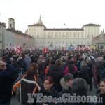 Corteo No Tav a Torino: il sindaco di Pinerolo tra i 70mila di piazza Castello