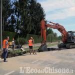 None: chiusa la strada di collegamento con Castagnole e Virle