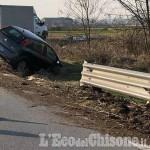 Orbassano: scontro tra auto sulla Sp143, due feriti lievi