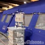 Il Soccorso Alpino e Speleologico Piemontese in servizio all'ospedale da campo di Torino Esposizione