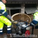 Alluvione: anche gli Alpini al lavoro per aiutare le famiglie di Pinerolo, Villafranca e Perosa