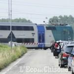 Treno: sulla Torino-Pinerolo via le barriere a Vinovo, Airasca e Piscina