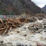 Alluvione in Val Chisone: frana a Pra Fajet, il rio Albona minaccia ancora il paese